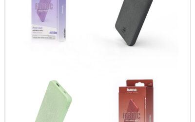 """NOVO! Trendovske barve                                                      Hama """"Fabric 10"""" Power Pack, 10000 mAh"""